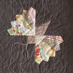 Moth Block PAPER Pattern by Cakestand Quilts