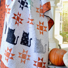 Load image into Gallery viewer, Scaredy Cat PAPER Quilt Pattern by Jedi Craft Girl