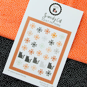 Scaredy Cat PAPER Quilt Pattern by Jedi Craft Girl
