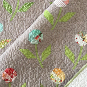 Sprig PAPER Quilt Pattern by Cakestand Quilts