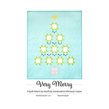 Load image into Gallery viewer, Very Merry PAPER Quilt Pattern by Heartfully Handmade and KPerreault Creates