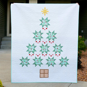 Very Merry PAPER Quilt Pattern by Heartfully Handmade and KPerreault Creates