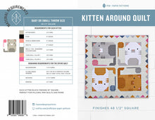 Load image into Gallery viewer, Kitten Around Quilt | Pen and Paper Pattern