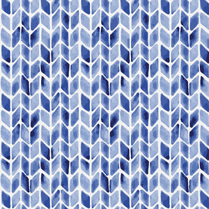 Lula Blue | Twilly Indigo | Paintbrush Studio Fabrics