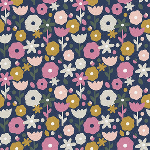 Paintbrush Studio Fabrics | OVER THE RAINBOW FLOWERS 19433