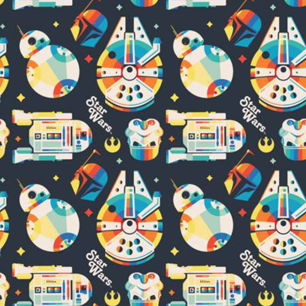 Star Wars Licensed Fabric | Droids