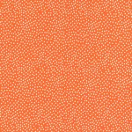 Fat Quarter of Garden Pindot | Michael Miller | Orange Pindot