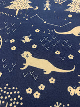 Load image into Gallery viewer, Otter Romp | Navy | Paintbrush Studio