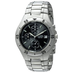 Citizen Men_s Chronograph Stainless Steel Watch #AN3160-50E