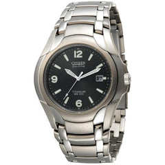 Citizen Men_s Eco-Drive 180 WR100 Titanium Bracelet Watch #BM6060-57F