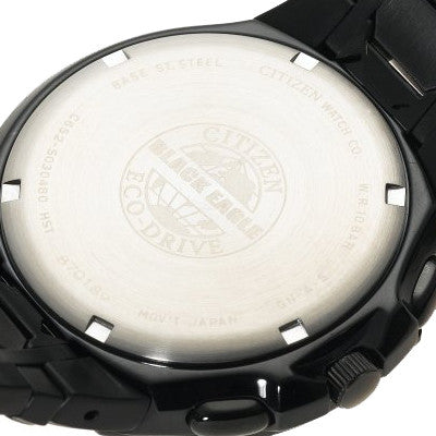 Citizen Men_s Eco-Drive Black Ion-Plated Skyhawk Watch #JR3155-54E