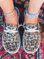 Load image into Gallery viewer, Women's Leopard Printed Canvas Shoes