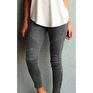 Women Elastic Cotton Slimming & Shaping Pants