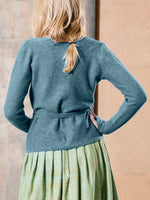 Load image into Gallery viewer, Comfy Knit Wrap Cardigan with Belt