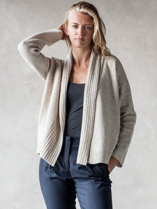 Shawl Collar Cozy Soft Wool Cardigan