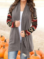 Load image into Gallery viewer, Women's Western Print Long Sleeve Cardigan