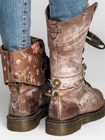 Load image into Gallery viewer, Women's Rivet vintage Thick With Martin boots