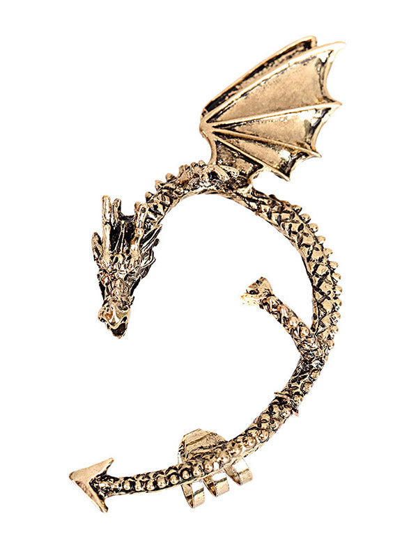 Women's Retro Dragon Ear Hanger