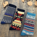 Load image into Gallery viewer, Men's Ethnic Style Totem Pattern Print Thicken High-top Socks