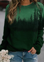 Load image into Gallery viewer, Treetop Silhouette Casual Sweatshirt