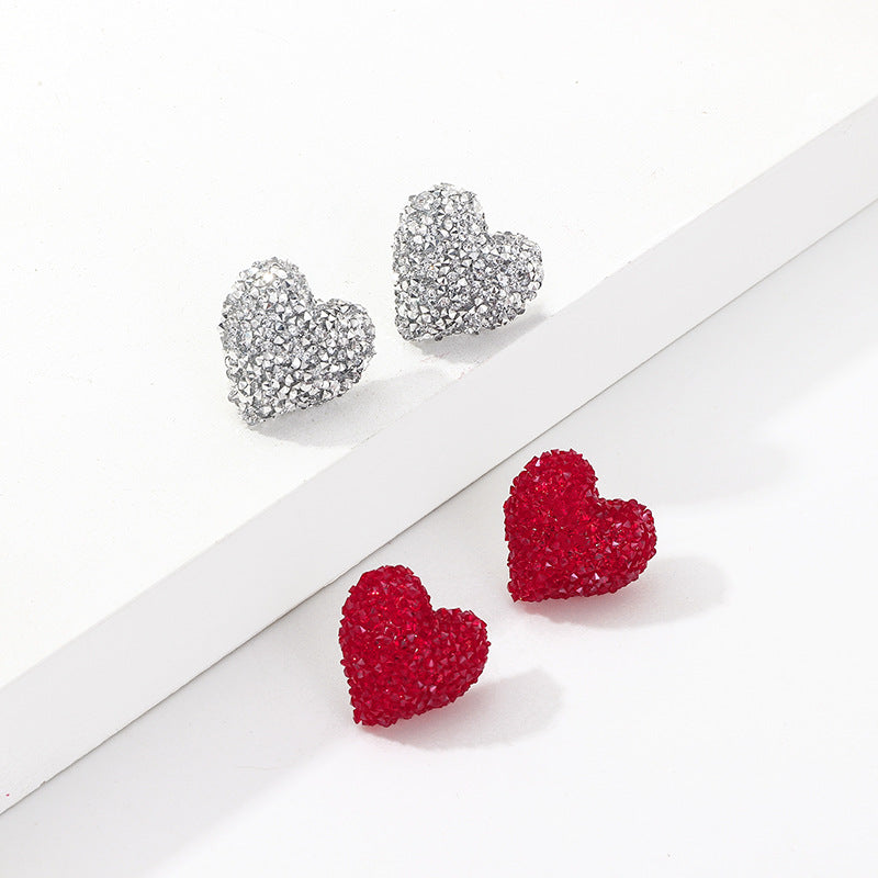 Heart Earrings - Queen P Boutiquee
