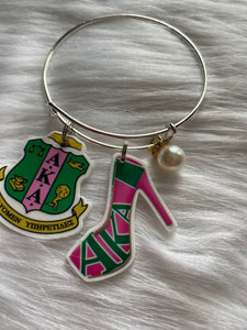 Sorority Inspired Bangles - Queen P Boutiquee