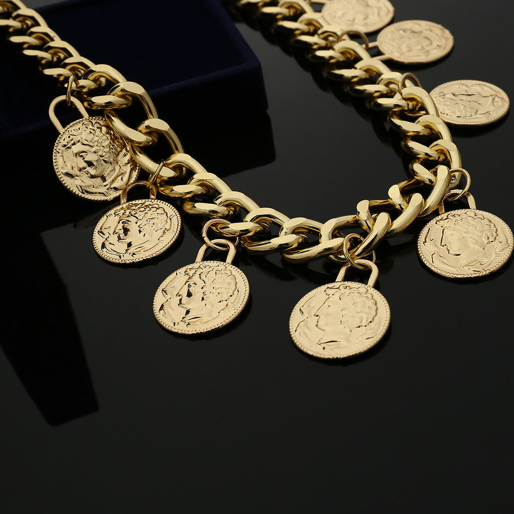 Coin Chain Belt - Queen P Boutiquee