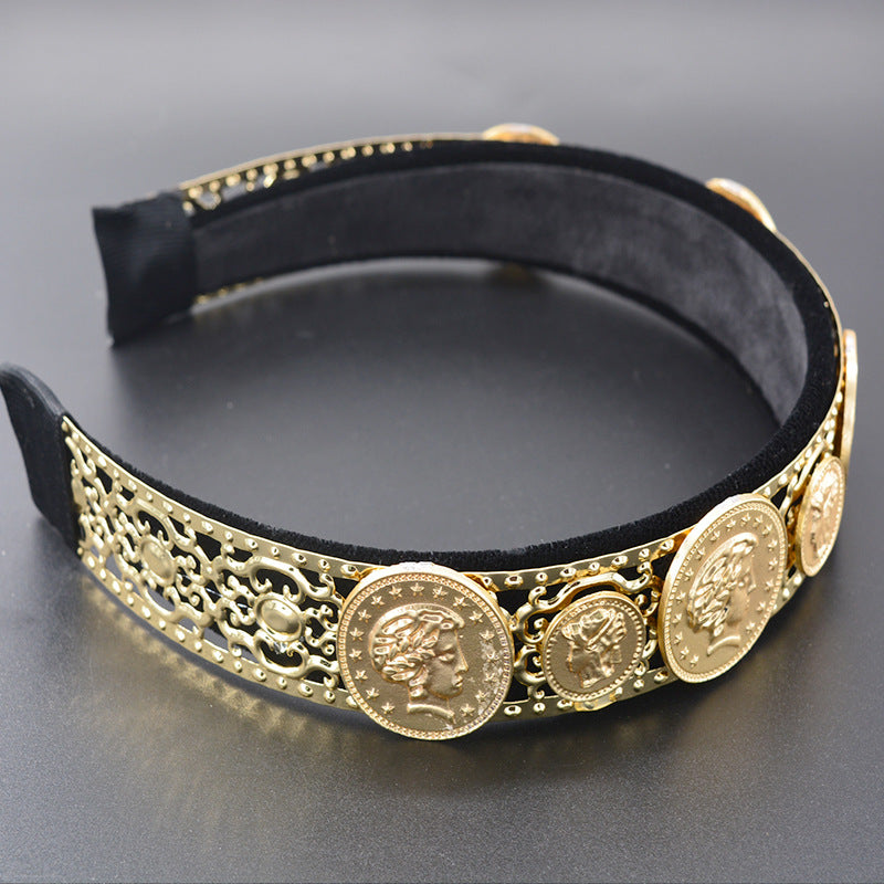 Coin Headband - Queen P Boutiquee