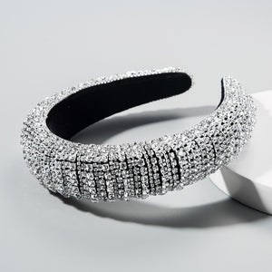 Rhinestone Crown Headband - Queen P Boutiquee