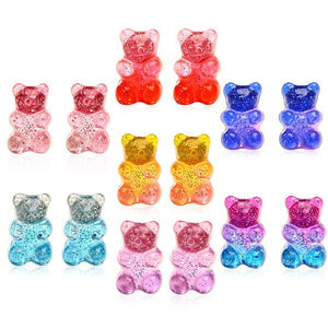 Gummy Bear Earrings - Queen P Boutiquee