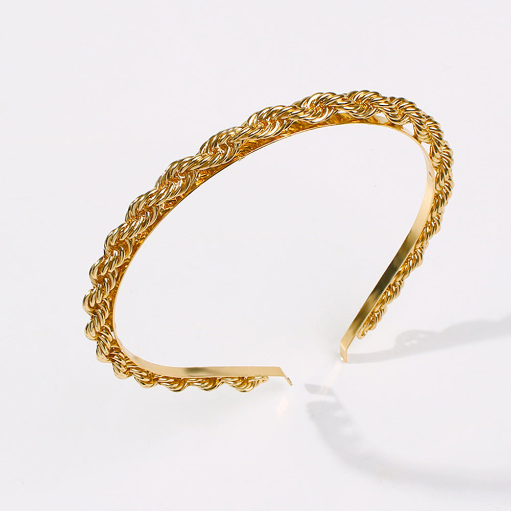 Rope Chain Headband - Queen P Boutiquee