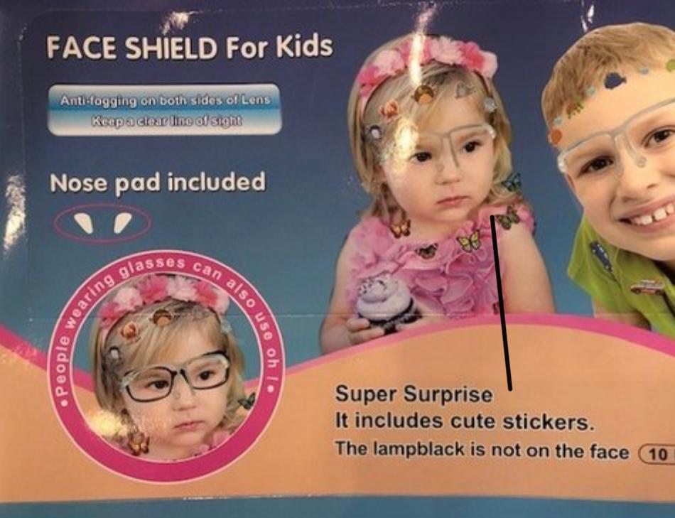 Face Shield - Queen P Boutiquee