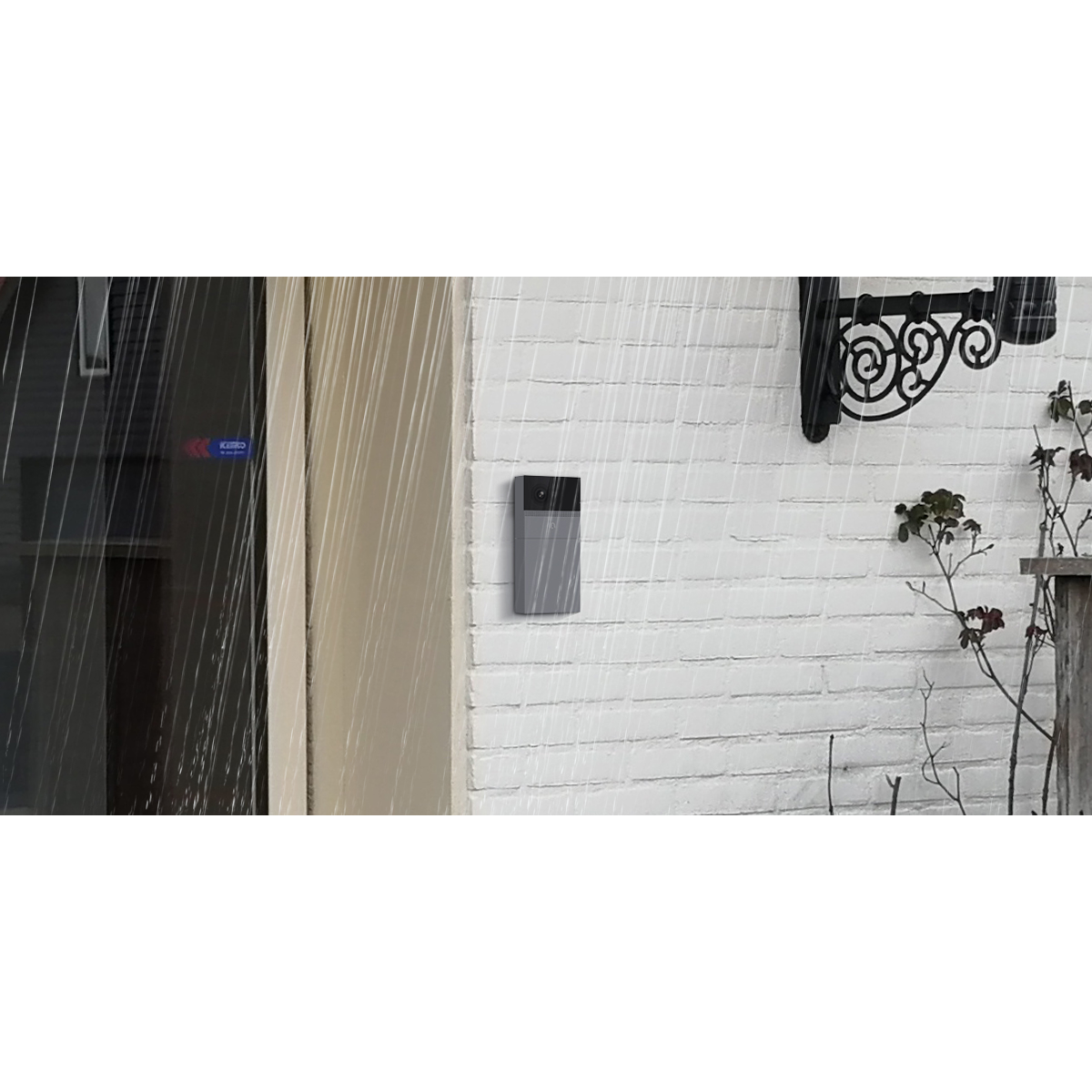 B1 Outdoor 1080p Wi-Fi Rechargeable Battery-Powered Video Doorbell Camera