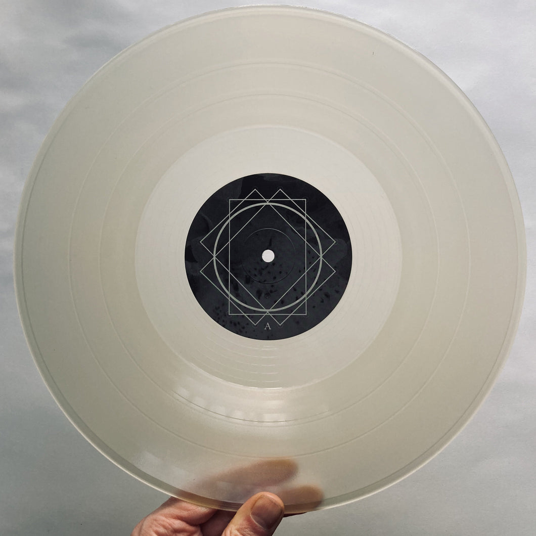 A-SUN AMISSA - Ceremony in the Stillness Music slowsecret VINYL (Frosted Clear - Tour Edition)