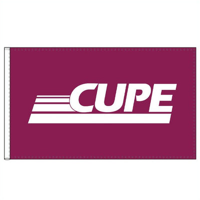 CUPE Flag - Universal Promotions Universelles