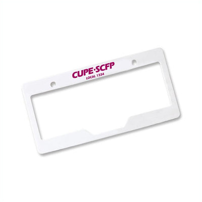 License Plate Frame - Universal Promotions Universelles