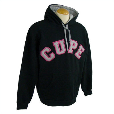 CUPE Varsity Style Hooded Sweatshirt - Universal Promotions Universelles