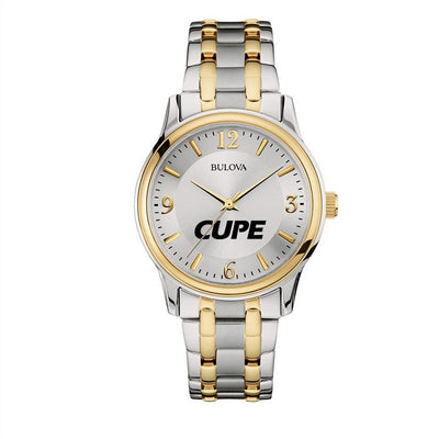 CUPE Bulova Two-tone Watch - Universal Promotions Universelles