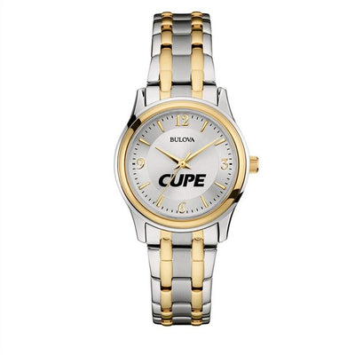 Women's CUPE Bulova Two-tone Watch - Universal Promotions Universelles
