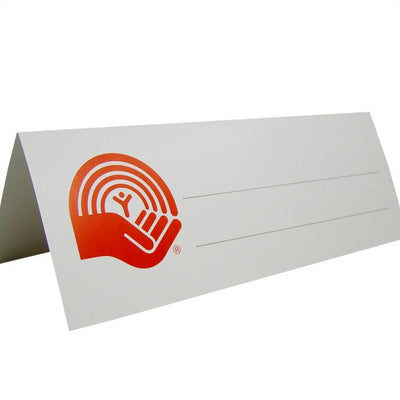 United Way Table Tents (100-pack) - Universal Promotions Universelles