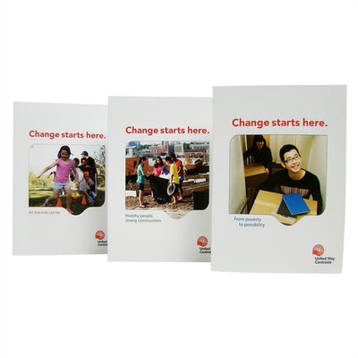 United Way Assorted Thank You Cards - Universal Promotions Universelles