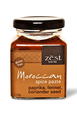 Moroccan Spice Paste by Zest Byron Bay