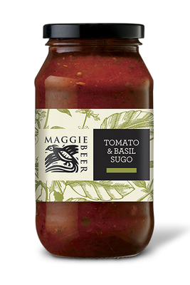 Tomato and Basil Sugo Pasta Sauce by Maggie Beer
