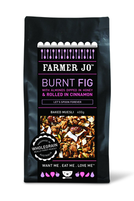 Burnt Fig Muesli by Farmer Jo