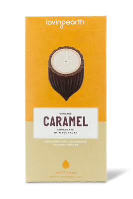 Caramel Chocolate by Loving Earth