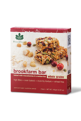 Cranberry Multipack Bars by Brookfarm