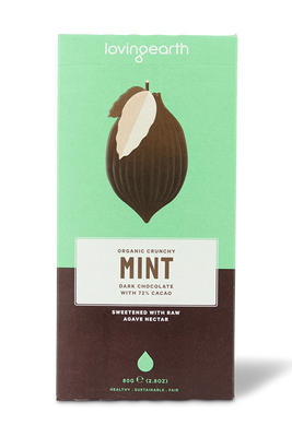 Crunchy Mint Chocolate by Loving Earth