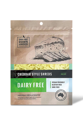 Cheddar Style Shreds by Dairy Free Down Under