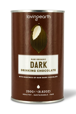 Dark Hot Chocolate by Loving Earth