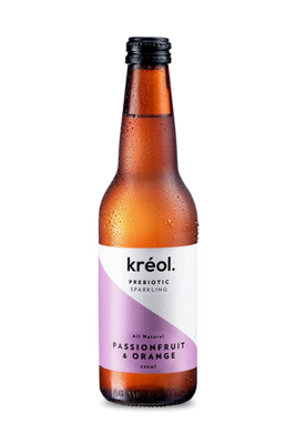 Passionfruit Orange Prebiotic Sparkling by Kreol